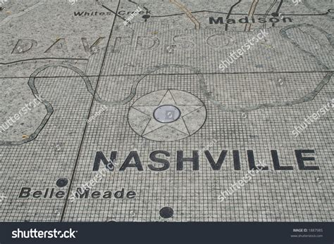 Nashville Search Nashville Map At Bicentennial Park Stock Photo 1887985