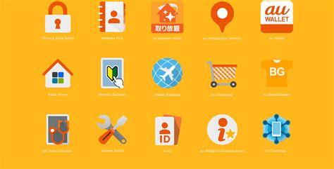 Hybridworks works au service icons