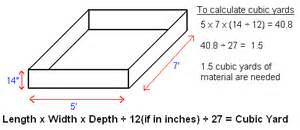 How To Find Cubic Yards Tips Faqs