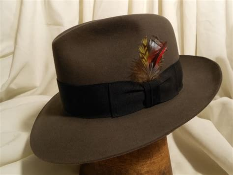 caribou color stetson fedora temple style caribou color size 7 1 4 the