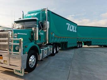 two and a truck hourly rate toll linfox reluctantly opposed minimum rates for