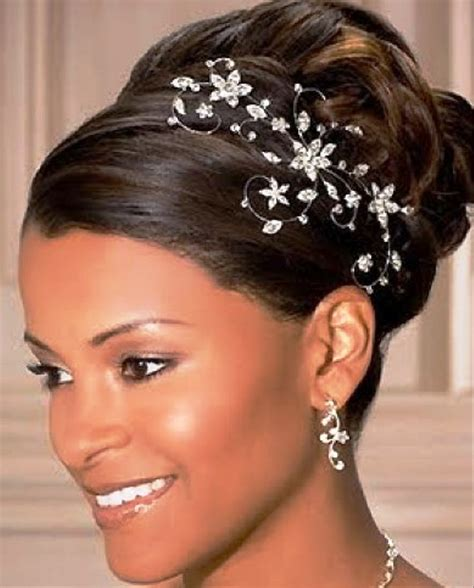 afro american updo hairstyles pictures of beautiful african american wedding updo hairstyles