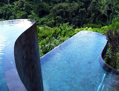 hanging infinity pools in bali top 10 craziest swimming pools ever extravaganzi