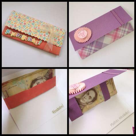 como hacer sobres para dinero tarjetas para regalo en efectivo sobres de regalo