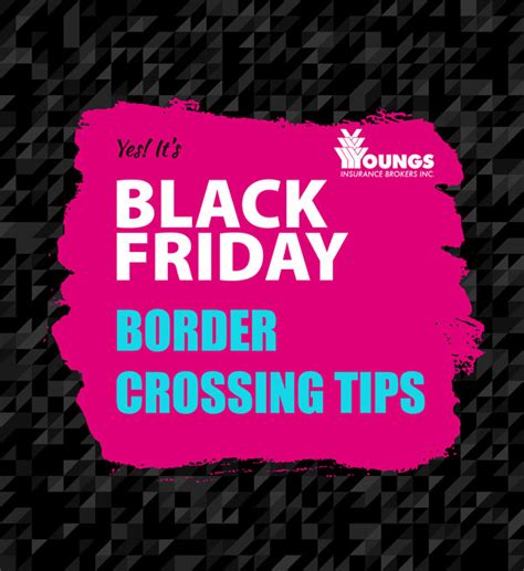 The Feed Thanksgiving And Black Friday Tips by Black Friday Niagara Border Tips Youngs Insurance Ontario