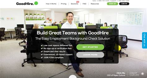 One Time Background Check Service Goodhire Review Best One Time Background Check Service