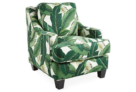 banana leaf armchair mizner club chair banana leaf club from one kings lane