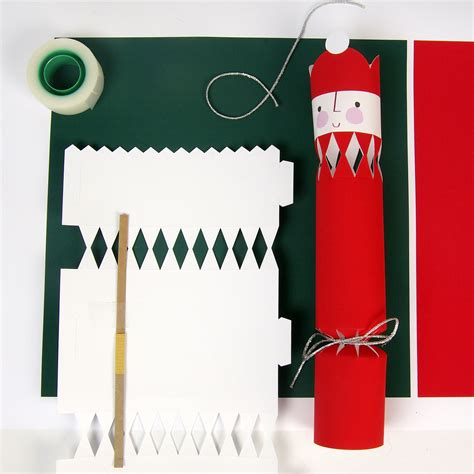 christmas cracker supplies step 1 open and lay out supplies mch crackers diy crackers i