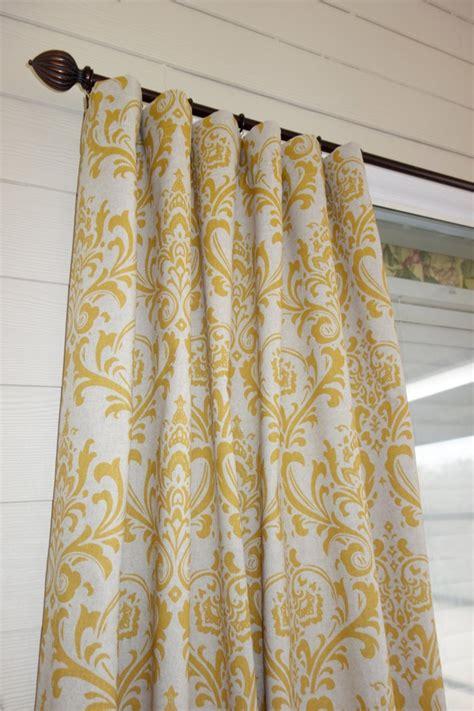 Yellow Linen Curtains New Corn Yellow Linen Curtain Panels 50 Quot X 84 Quot 130 00 Via Etsy Windows Treatments
