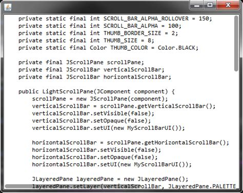 themes for java swing applications ui ideas mac os x mountain lion scrollbars in java swing