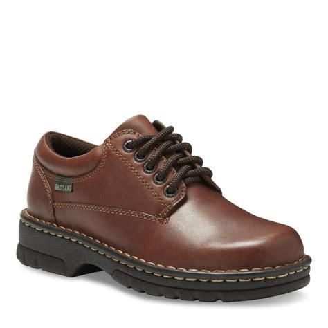 eastland plainview oxford shoes eastland s plainview oxford brown leather shoes 315