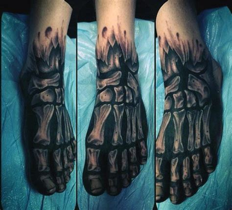 x ray hand tattoo 70 bone tattoo designs for men skeletal ink ideas