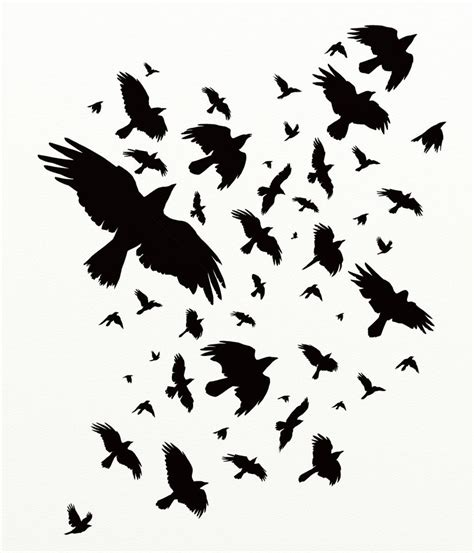 The Murder Of Crows by Murder Of Crows By Hareguizer On Deviantart