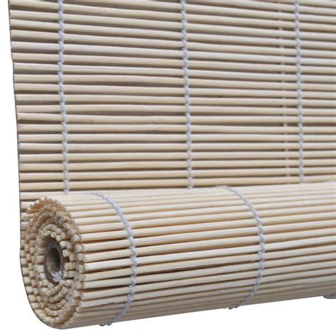 Bamboo Roller Blinds Vidaxl Co Uk Bamboo Roller Blinds 150 X 220 Cm