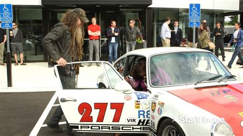 magnus walker crash magnus walker crashing 277 porsche 911 on