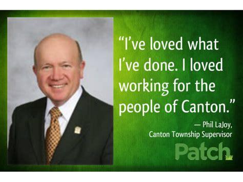 lajoy plymouth mi canton supervisor confirms retirement plans patch