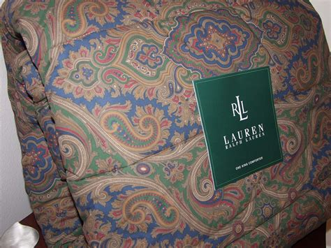 ralph lauren paisley comforter ralph lauren brianna paisley queen comforter 4pc set ebay