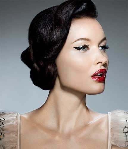 pin up makeup. looks, tips and tutorials