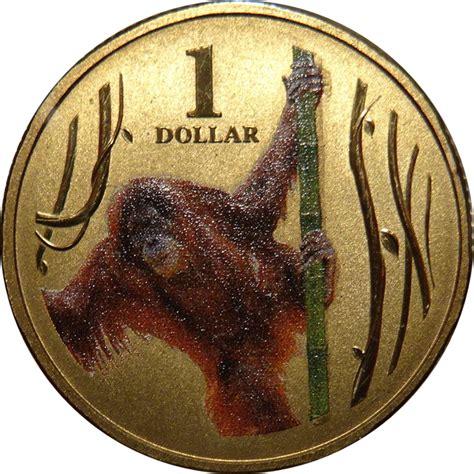 bentley orangutan 1 dollar elizabeth ii orangutan australia numista