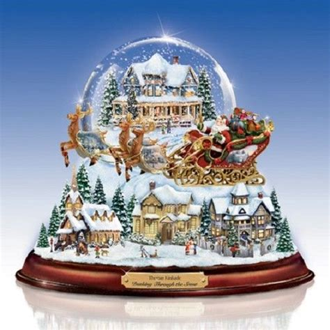 holiday memories lighted village and train music box 345 best images about snow globes on