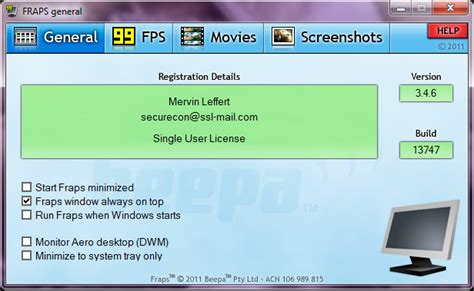 fraps full version free download zip free softwares and stuff