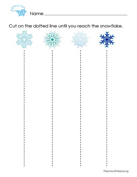 theme line winter cutting scissor cutting skills scissor cutting skills