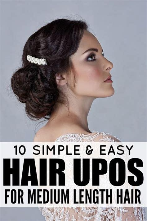 length hair neededfor samuraihair 10 easy glamorous updos for medium length hair