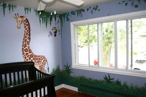 Jungle Themed Nursery Decor Jungle Themed Nurseries Ideas Inspiration