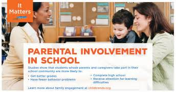 Parent Involvement In Education Essay by Parental Involvement In Schools Child Trends