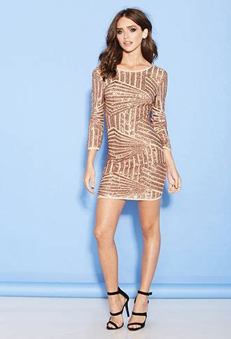 abstract pattern sequin playsuit gold sequin geometric print abstract pattern long sleeve