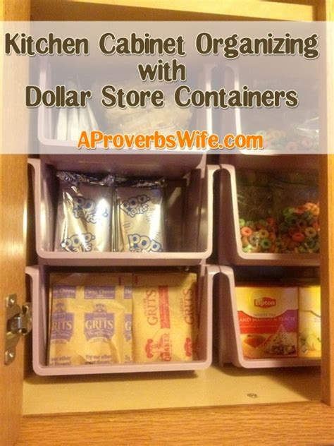 how to organize my kitchen cabinets organized homemaking freezer re do with dollar store containers a proverbs