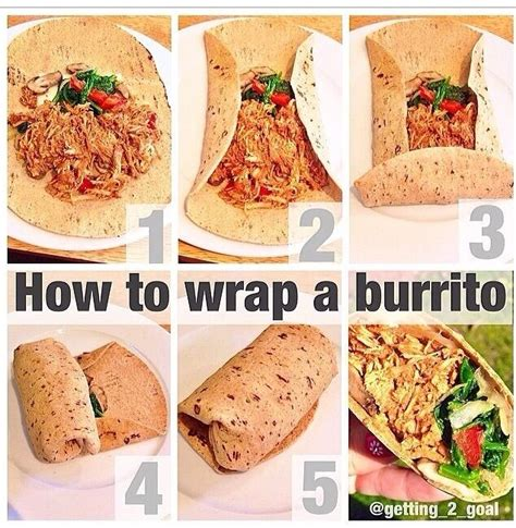 how to wrap a burrito class is in session pinterest