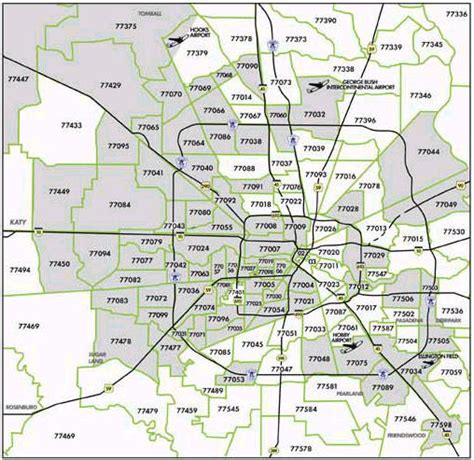 printable zip code map houston tx picture foto car templates fotos houston zip code