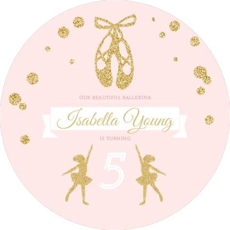 Faux Gold Invitations 3 400 Pink Faux Gold Glitter Ballerina Birthday Invitation
