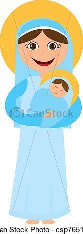 imagenes de la virgen maria de caricatura vector clip art de virgen mar 237 a y jes 250 s caricatura