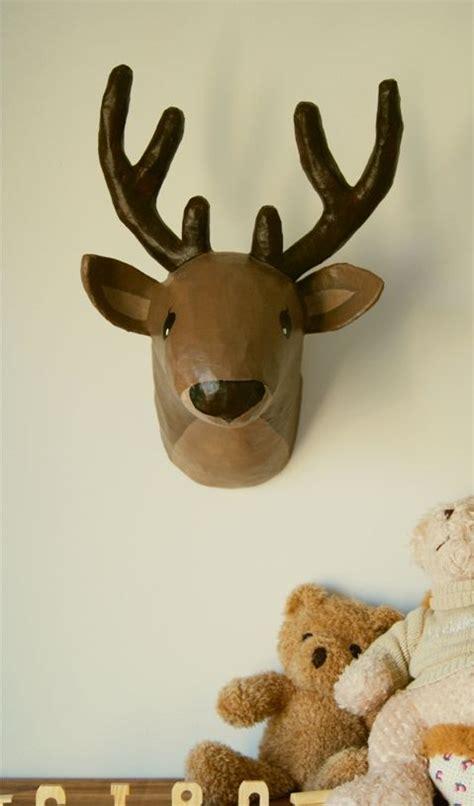 How To Make A Paper Mache Deer - paper mache deer diy papier mache