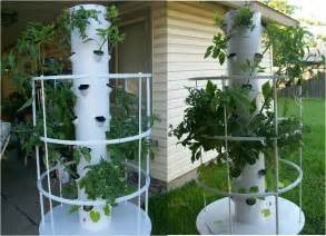 with tower garden