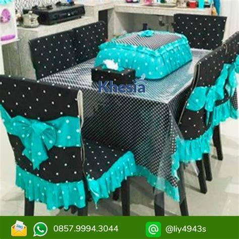 Meja Makan Plastik jual taplak meja makan set murah variasi motif