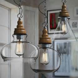Ikea Kitchen Accessories Australia - northic wood cap and clear glass shade pendant lighting 10357 browse project lighting and