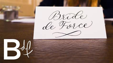 how to calligraphy wedding invitations diy diy wedding invitations calligraphy