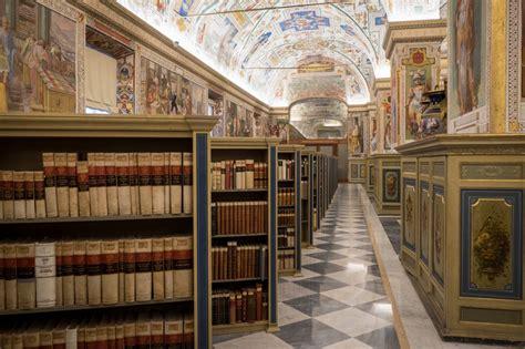 biblioteca della biblioteca apostolica vaticana vaticano roma