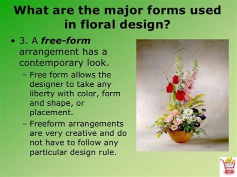 free form design definition introduction to floral design