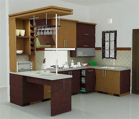 desain dapur nuansa coklat desain dapur minimalis sederhana namun efektif rumah saya
