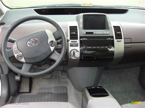 2004 Toyota Prius Interior by 2004 Toyota Prius Hybrid Burgundy Gray Dashboard Photo