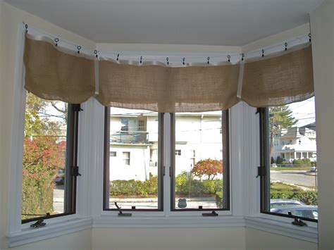 Decorations burlap window treatments for cute interior home decorating ideas whereishemsworth com