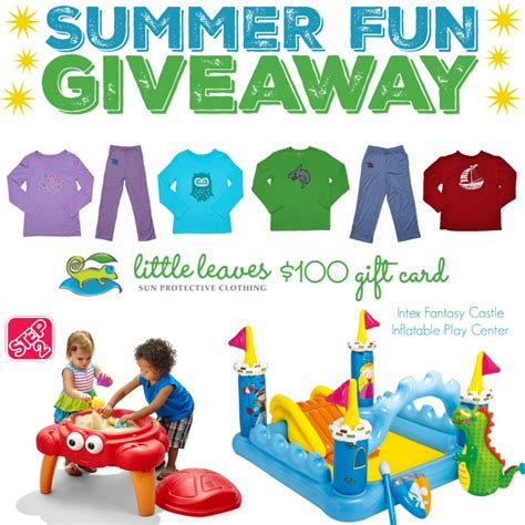 Fun Summer Giveaways - summer fun giveaway