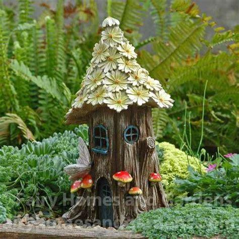 Solar Fairy Houses Lighted Fairy Cottage