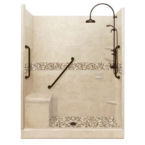 bathroom kit freedom collection diy roma alcove shower kit american