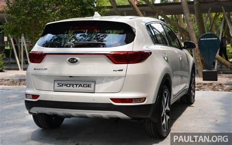 Kia In Malaysia 2016 Kia Sportage Introduced In Malaysia 2 0l Kx Line