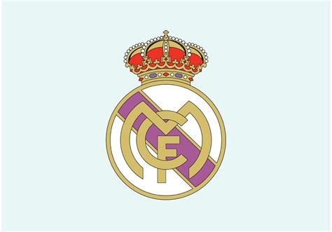 Logo Patch Woven Emblem Club Bola Real Madrid real madrid crest free vector stock graphics images